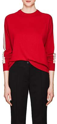 Boon The Shop Women's Mesh-Inset Knit Cashmere Sweater