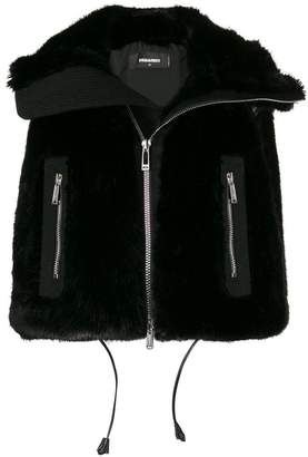 DSQUARED2 cropped gilet