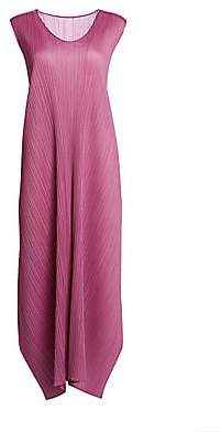 Pleats Please Issey Miyake Women's Monthly Colors May Shift Dress