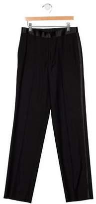 Ralph Lauren Boys' Satin-Trimmed Pants w/ Tags