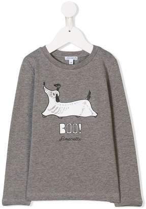 Simonetta dog print T-shirt
