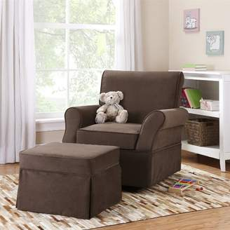 Viv + Rae Antonia Swivel Glider and Ottoman