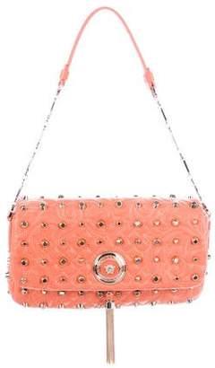 Versace Stud-Embellished Vanitas Calliope Bag w/ Tags