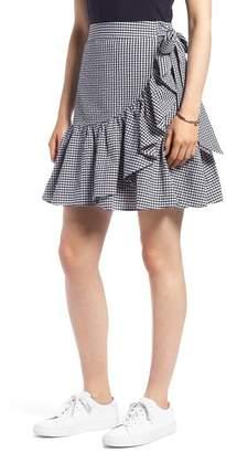 1901 Ruffle Gingham Miniskirt (Regular & Petite)