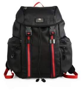 Gucci Medium Canvas Backpack