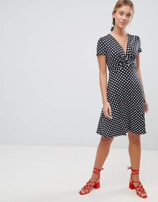Gilli Polka Dot Skater Dress