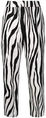 Ports 1961 zebra print trousers