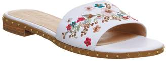 Office Sundance Embroidered Mules