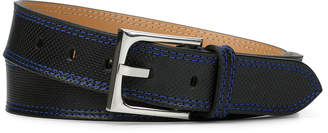 Donald J Pliner FRANCOSP, Perforated Dipped Calf Leather Belt
