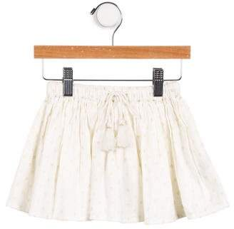 Louis and Louise Girls' Metallic-Accented Knit Skirt w/ Tags