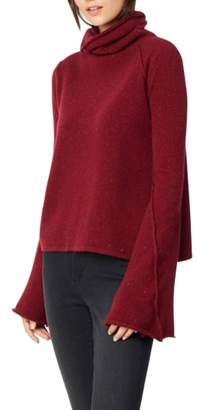Habitual Adalyn Oversize Bell Sleeve Cashmere Sweater