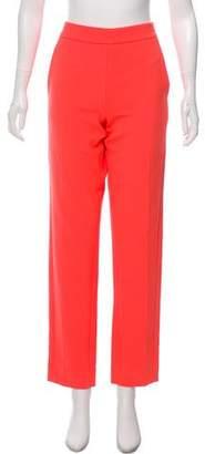 Amanda Wakeley Mid-Rise Straight-Leg Pants w/ Tags