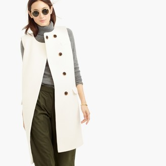Collection double-faced Italian wool sleeveless coat $495 thestylecure.com