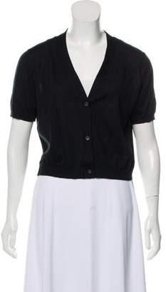 Miu Miu Cashmere Button-Up Cardigan