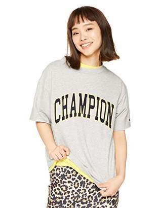 Champion (チャンピオン) - [チャンピオン] ショートスリーブクルーネックスウェットシャツ CW-P011 オックスフォードグレー 日本 L (日本サイズL相当)