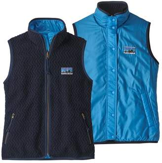 Patagonia Women's Woolie Fleece Reversible Vest