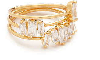Gorjana Amara Ring Set $55 thestylecure.com