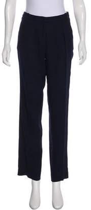 ATEA OCEANIE Wool High-Rise Straight Pants