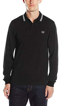 Fred Perry Men s Fp Ls Twin Tipped Polo Shirt ae9d09c9fd2