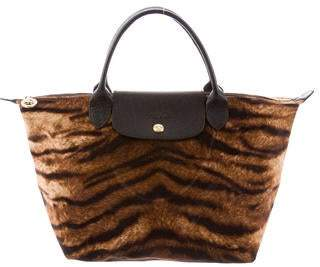 4b5c3d3177cb Longchamp Animal Print Le Pliage Tote