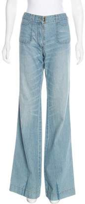 3.1 Phillip Lim Flared Mid-Rise Jeans
