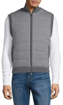 Dunhill Reversible Wool Vest