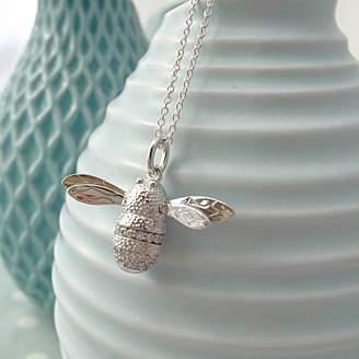 Bumble Bee Sophie Jones Jewellery Silver Necklace