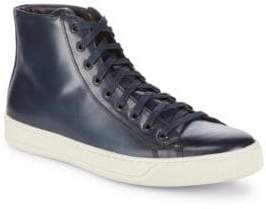 Bruno Magli Wilson Leather High-Top Sneakers