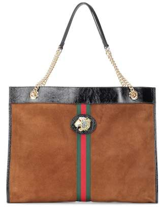 6dac214b9f1b Gucci Suede Tote Bags - ShopStyle