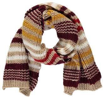 Forever 21 Chunky Ribbed Striped Scarf
