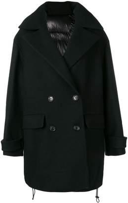 Juun.J padded back coat