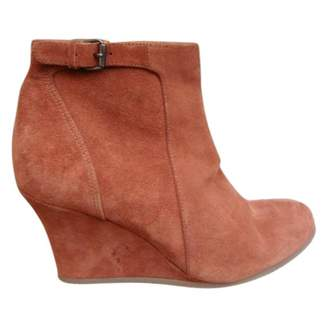 Lanvin Wedge Low Boots Size...