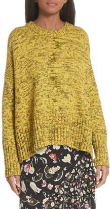 Jason Wu GREY Back Tie Cotton Blend Sweater