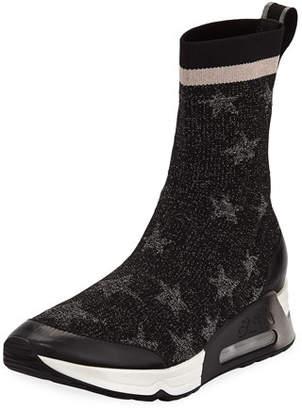 Ash Lakes Knit High-Top Sneaker