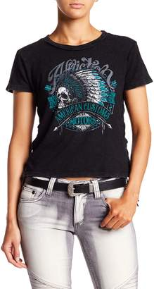 Affliction Lace-Up Side Tee