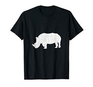Life Is Better With A Rhino Animal Zoo Lover T-Shirt