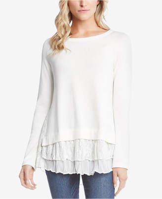 Karen Kane Layered-Hem Sweater, Created for Macy's