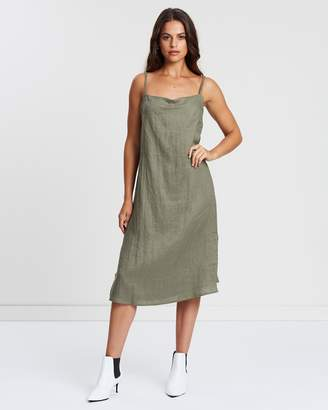 Valaree Midi Slip Dress
