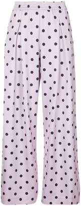 Layeur printed palazzo trousers
