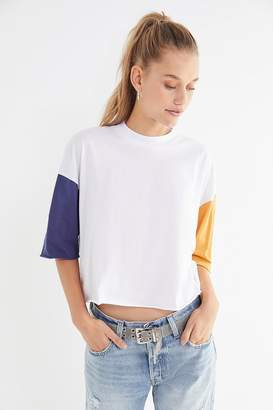 Truly Madly Deeply Penelope Oversized Mock-Neck Tee