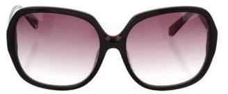Dita Oversize Gradient Sunglasses