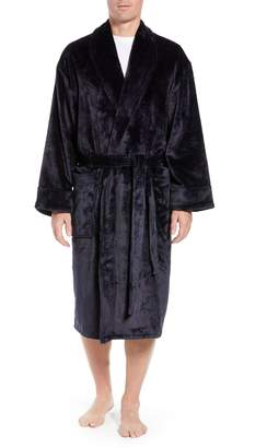 Daniel Buchler Chevron Fleece Robe