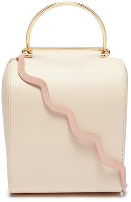 Roksanda 'Besa' ring handle wavy strap leather shoulder bag