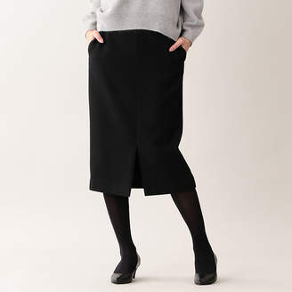 MACKINTOSH LONDON ウィメン エアーメルトンウールナイロンタイトスカート