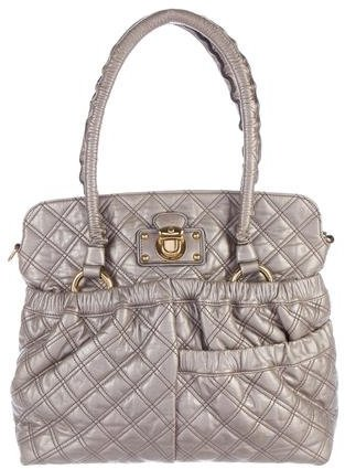 Marc Jacobs Marc Jacobs Quilted Leather Satchel