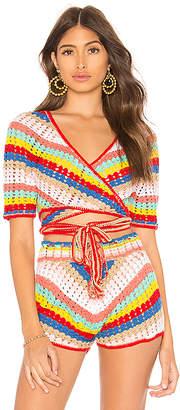 Wildfox Couture Gigi Crochet Top