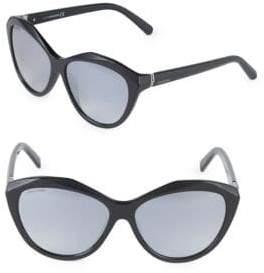 Swarovski 58MM Butterfly Sunglasses