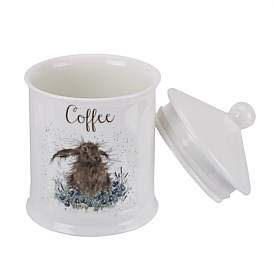 Royal Worcester Coffee Canister - Hare