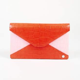 Stalvey Red Exotic leathers Clutch bags