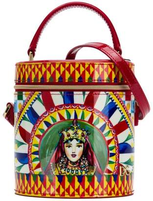 Dolce & Gabbana multicoloured bucket bag